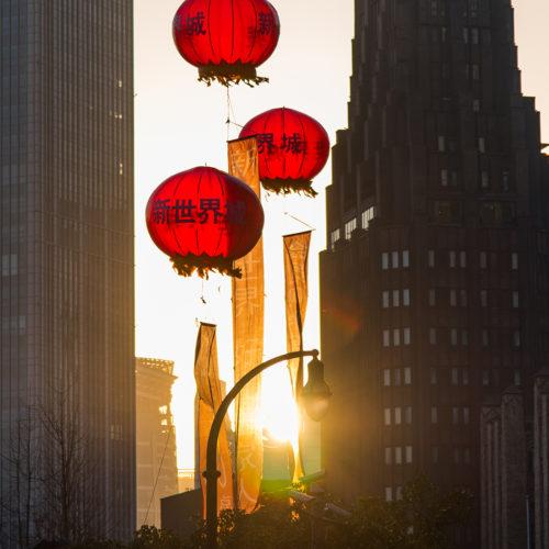 Shanghai balloons